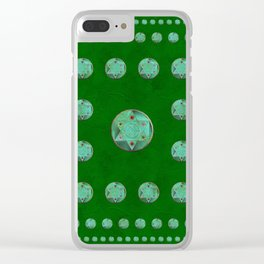 Symbols of Magick Clear iPhone Case