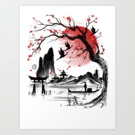 Japan dream Art Print