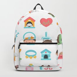 CUTE VET / VETERINARIAN PATTERN Backpack