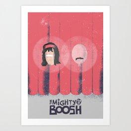 The Mighty Boosh Minimal Poster Art Print