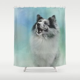 Something To Say Shower Curtain