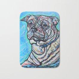 Pug My Love Bath Mat