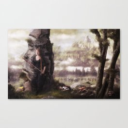 The Rogue Canvas Print