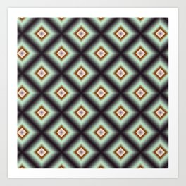 Starry Tiles in atBMAP 03 Art Print