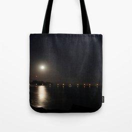 Full Moon Rise Tote Bag