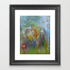 Iris - Seeing You in Seeing Me  Framed Art Print