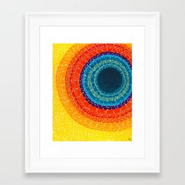 African American Masterpiece The Eclipse by Alma Thomas Framed Art Print