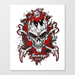 Revenge 2017 Canvas Print