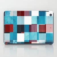 patriotic iPad Cases featuring Patriotic Grid by plaidGecko