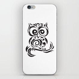 Owl Leaves iPhone Skin
