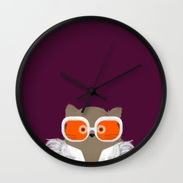 Cat Elton Wall Clock