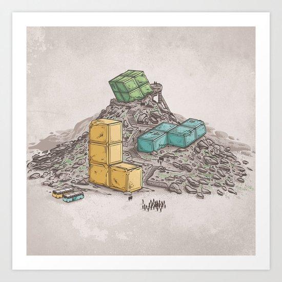 Game Legends Art Print