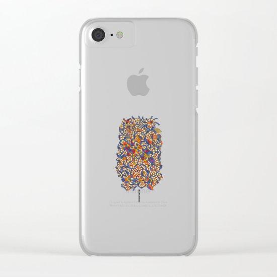 - sea in a sugar storm - Clear iPhone Case