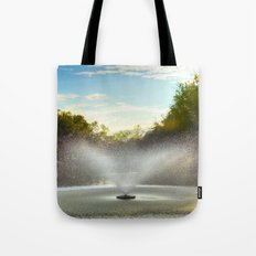 Fountain in New Orleans Tote Bag