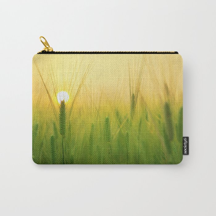 Morning Barley Field Carry-All Pouch