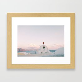 Not just another ocean picture Framed Art Print