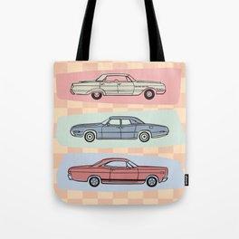 Motor Style Inc.: 60s American Heavy Metal Tote Bag