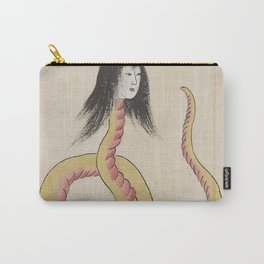 SARA HEBI / SNAKE WOMAN - ARTIST UNKNOWN Carry-All Pouch
