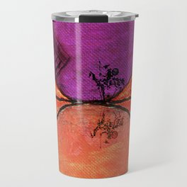 Don Quixote and the backlands of Brazil Travel Mug