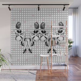 Filthy Mouth Pin Up Girls Wall Mural