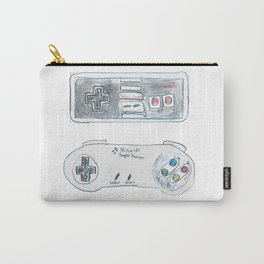 Old School Controllers Carry-All Pouch