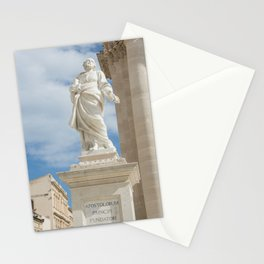 Statue of St. Peter Ortigia Stationery Cards