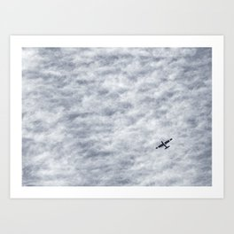 The Sky as the Sea Art Print