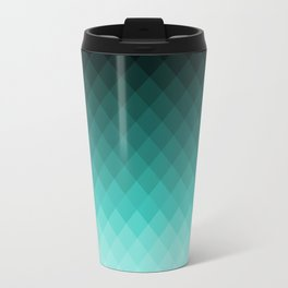 Ombre squares Travel Mug