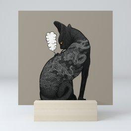 TATTOO CAT Mini Art Print
