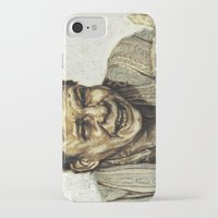 princess bride iPhone & iPod Cases featuring Vizzini from Princess Bride by Aaron Bir