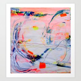 Abstract Art- 99 Art Print
