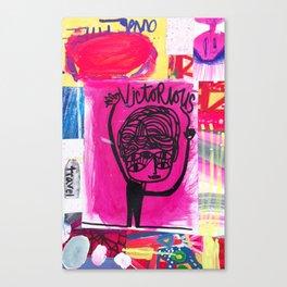 Victorious Canvas Print