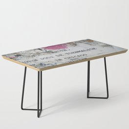 Urban poetry Coffee Table