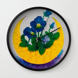 don´t forget me Wall Clock