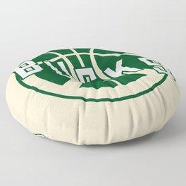 Bucks creme Floor Pillow