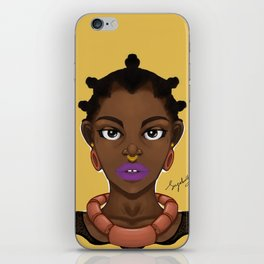 Adaku iPhone Skin