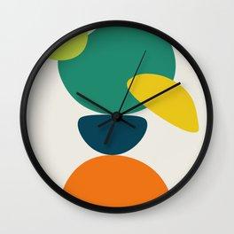 Abstract No.10 Wall Clock