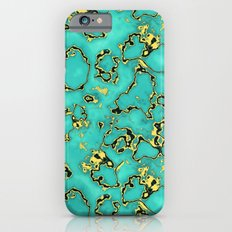 GOLD TURQUOISE iPhone 6 Slim Case