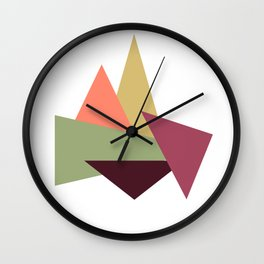 Let's Climb New Heights Wall Clock