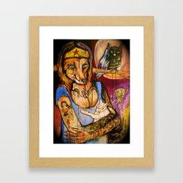 Of The Fox Confessor On Splendid Heels Framed Art Print