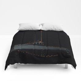South Rustico Christmas Fishing Boat Comforters