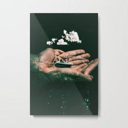 In Good Hands Metal Print