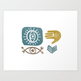 Hand-Eye Coordination Art Print