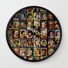 Screen Stars Wall Clock