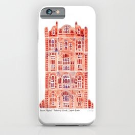 Hawa Mahal – Palace of the Winds in Jaipur, India iPhone Case
