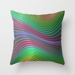 Curvitude Throw Pillow