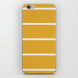 organic / yellow iPhone Skin