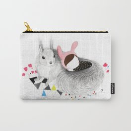 The Squirrel Carry-All Pouch