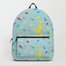 Letter J Pure Star Kids Backpack