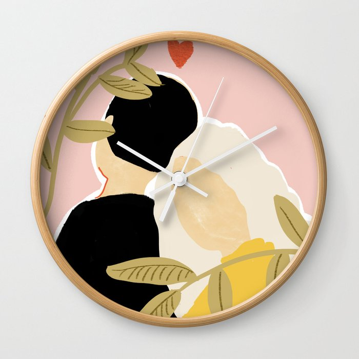 Blind Love II Wall Clock